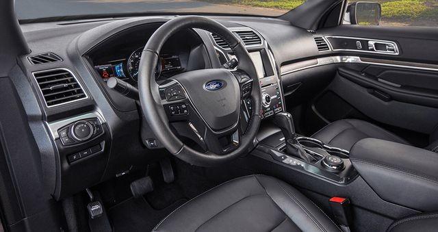Ford Explorer - Bản nâng cấp với hàng loạt tiện nghi sang trọng ảnh 1