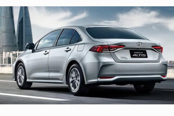Toyota Corolla Altis 2019 được trang bị những gì? ảnh 1