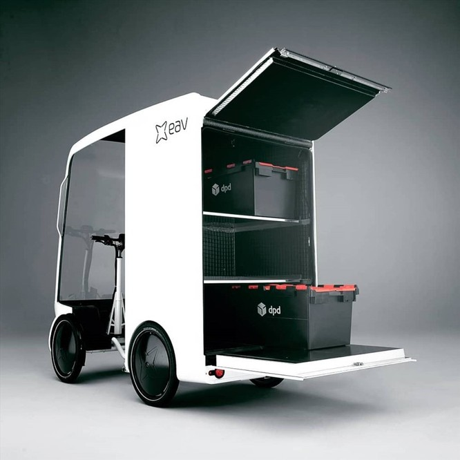 """Khám phá """"hàng độc"""", xe đạp điện chở được hàng hóa như xe tải ảnh 1"""