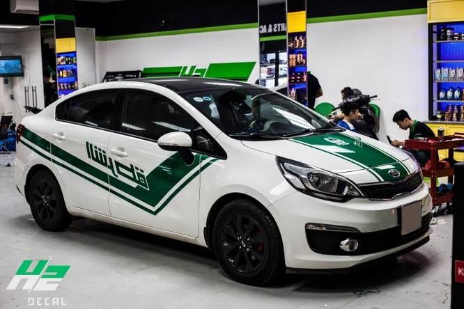 Bắt chước xe cảnh sát Dubai, ô tô Việt sẽ không được đăng kiểm ảnh 1