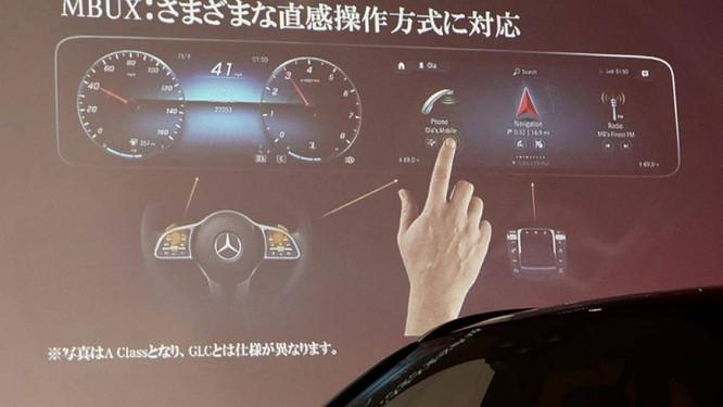 Mercedes-Benz giới thiệu GLC300 mới với phím điều khiển như bàn di chuột ảnh 1