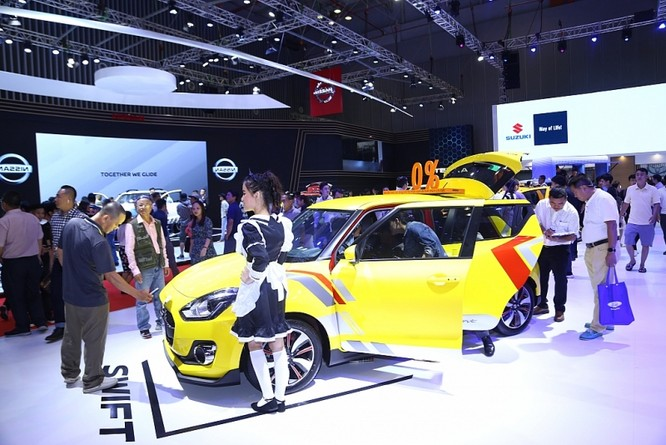 Ấn tượng mẫu xe Swift của Suzuki ảnh 2