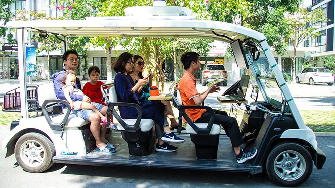 FPT thử nghiệm thành công xe tự hành trong khu đô thị Ecopark ảnh 1