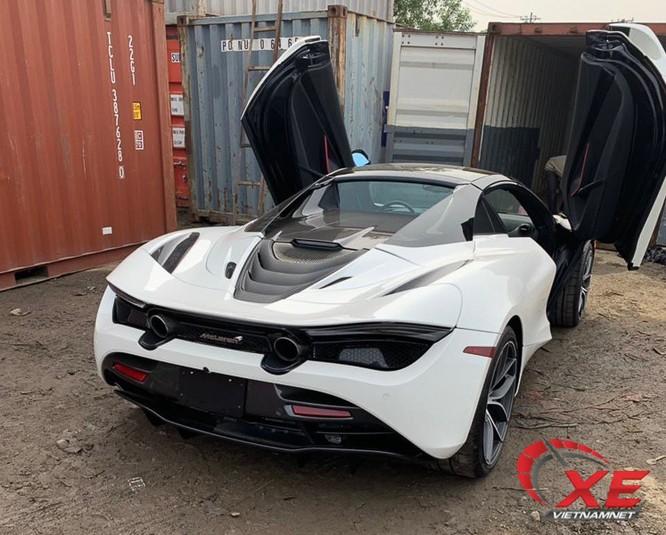 Siêu xe McLaren 720S giá 27 tỷ của đại gia Đà Nẵng về nước ảnh 1