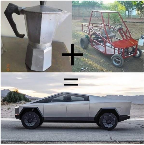 """Xe bán tải """"siêu bền"""" của tỷ phú Elon Musk bị dân mạng chế ảnh châm biếm ảnh 1"""