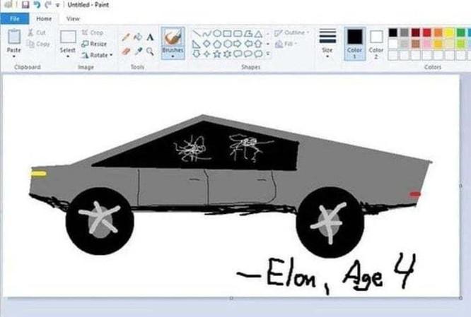 """Xe bán tải """"siêu bền"""" của tỷ phú Elon Musk bị dân mạng chế ảnh châm biếm ảnh 5"""