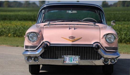 Chiêm ngưỡng chiếc Cadillac cổ màu hồng của huyền thoại Elvis Presley ảnh 1