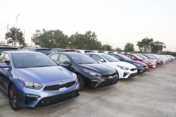 Thaco xuất khẩu 120 xe Kia Cerato sang Myanmar ảnh 1