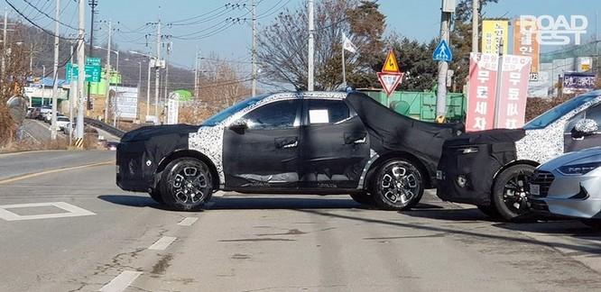 Hé lộ hình ảnh thật đầu tiên về xe bán tải đầu tay của Hyundai ảnh 1