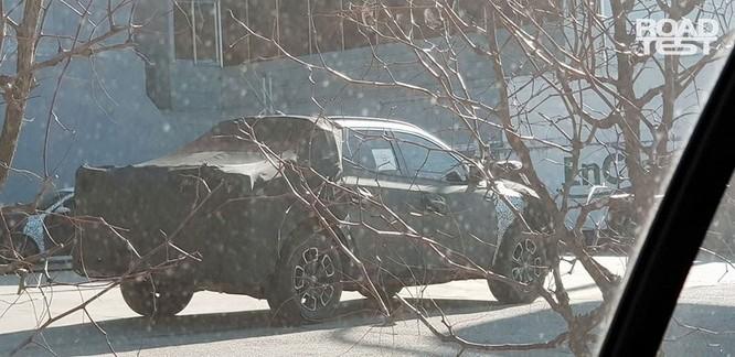 Hé lộ hình ảnh thật đầu tiên về xe bán tải đầu tay của Hyundai ảnh 2