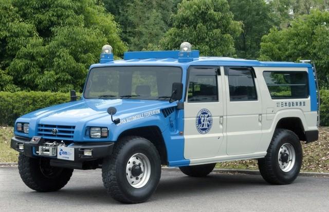 Mega Cruiser - Mẫu xe offroad ít người biết đến của Toyota ảnh 1