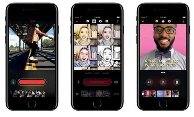 """Apple ra mắt iPad 9,7 inch, iPhone 7 đỏ và ứng dụng chỉnh sửa video vui nhộn """"Clips"""" ảnh 7"""