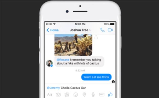 Mách bạn: Facebook Messenger vừa bổ sung 2 tính năng mới thú vị ảnh 1