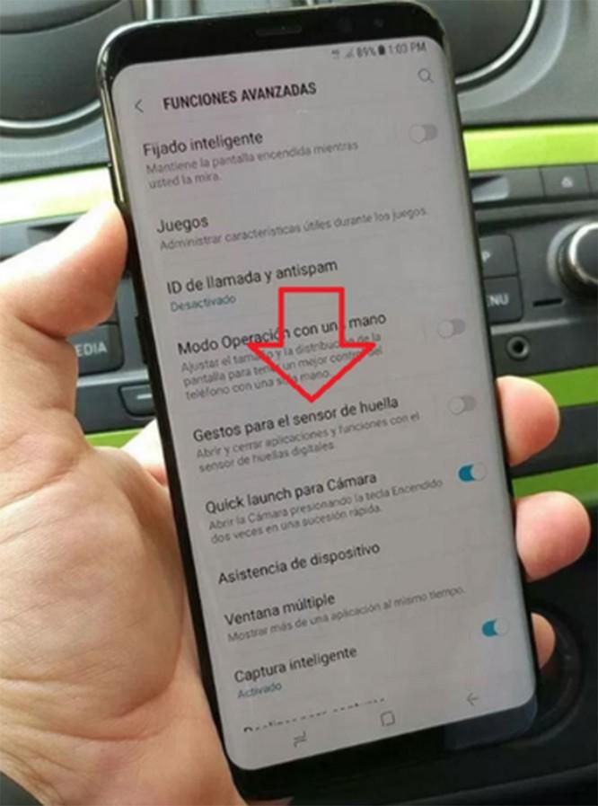 Máy quét vân tay trên Galaxy S8 có thể đóng mở ứng dụng? ảnh 1