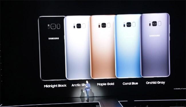 Galaxy S8 và S8 Plus sẽ có 5 màu, lên kệ vào 21/4 ảnh 20