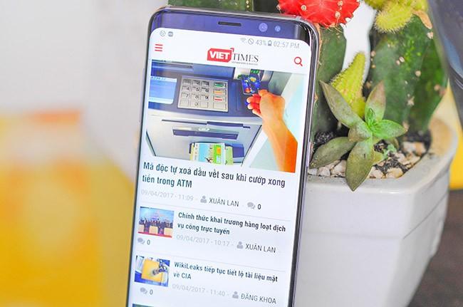 Galaxy S8 đã về Việt Nam theo đường xách tay ảnh 1