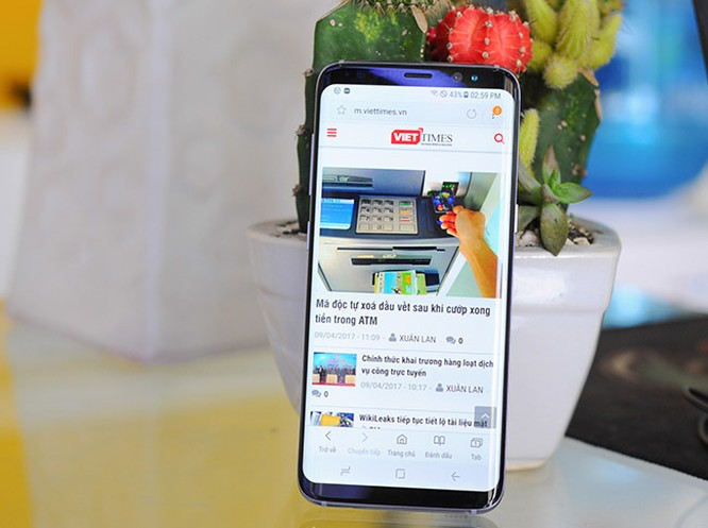 Galaxy S8 đã về Việt Nam theo đường xách tay ảnh 2