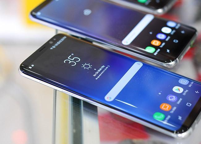 Galaxy S8 đã về Việt Nam theo đường xách tay ảnh 3