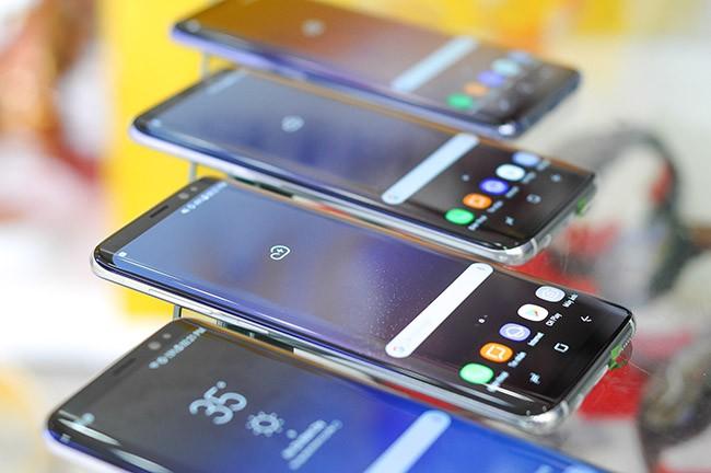 Galaxy S8 đã về Việt Nam theo đường xách tay ảnh 4