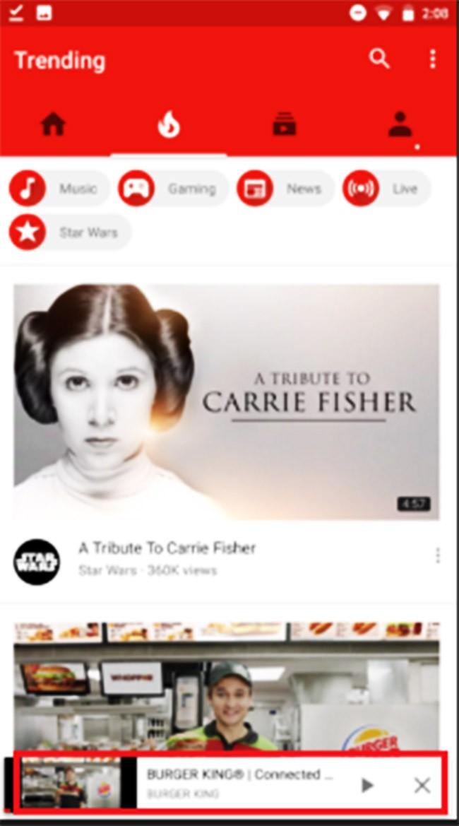 YouTube cho Android thay đổi giao diện mới ảnh 1