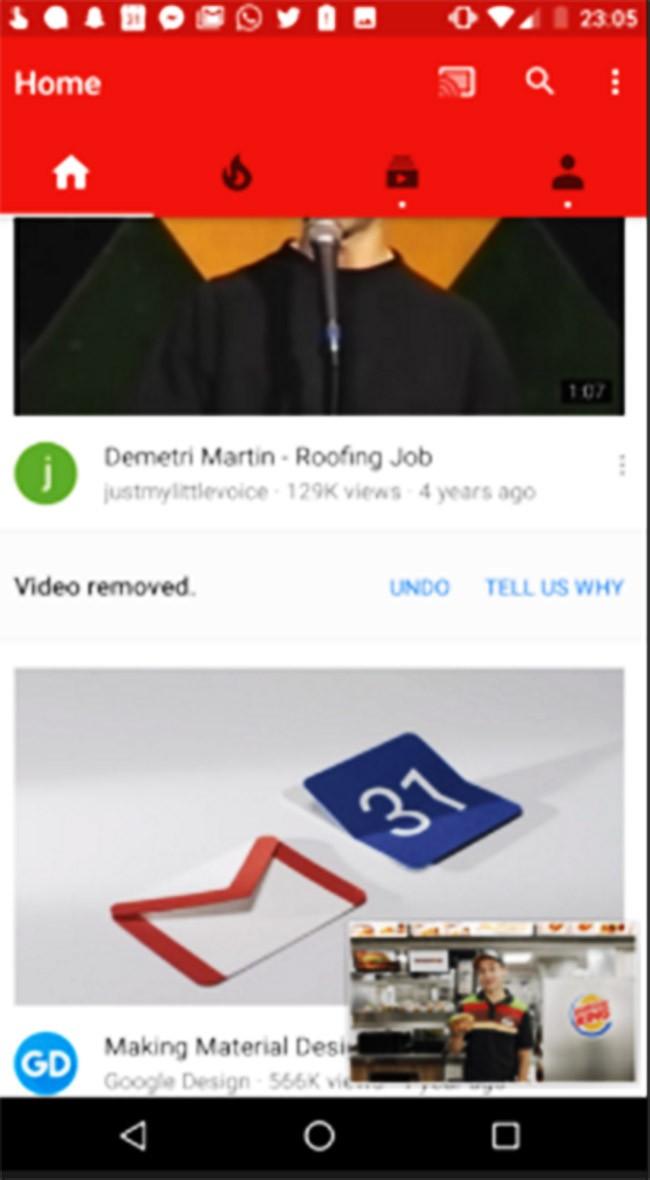 YouTube cho Android thay đổi giao diện mới ảnh 2