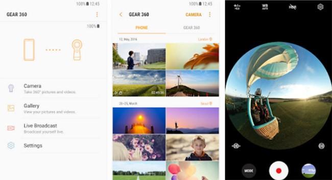 App tương thích camera Gear 360 đã có mặt trên Google Play ảnh 1