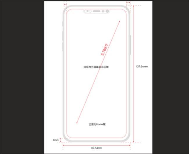Rò rỉ bản vẽ thiết kế iPhone 8 từ nội bộ Foxconn ảnh 1