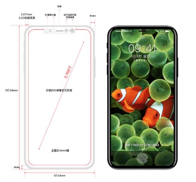Rò rỉ bản vẽ thiết kế iPhone 8 từ nội bộ Foxconn ảnh 5