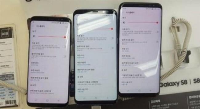 Người dùng than phiền màn hình Galaxy S8 bị ám đỏ ảnh 1