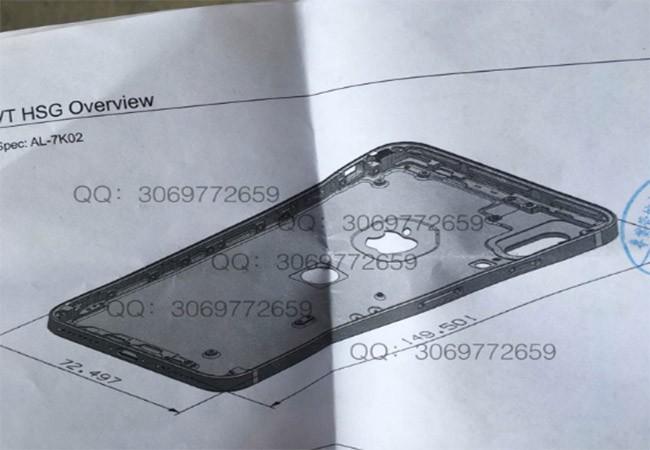 Cảm biến vân tay iPhone 8 sẽ nằm ở mặt lưng giống Galaxy S8? ảnh 1
