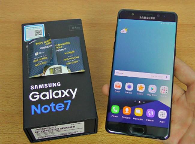 Note 7 tân trang bán tại Hàn Quốc cuối tháng 6, giá 620 USD ảnh 1