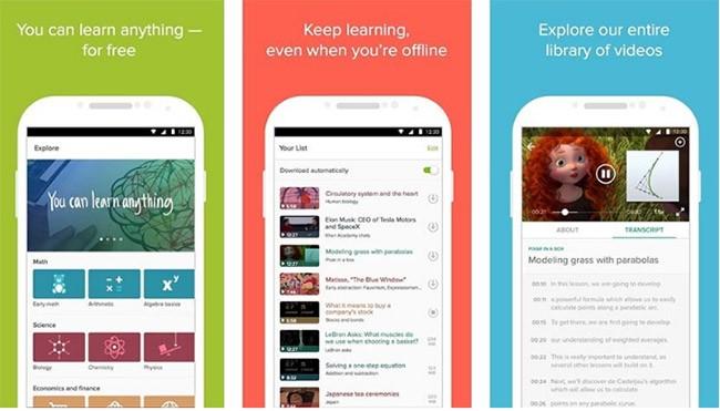 10 ứng dụng học tập hay nhất trên Android ảnh 2