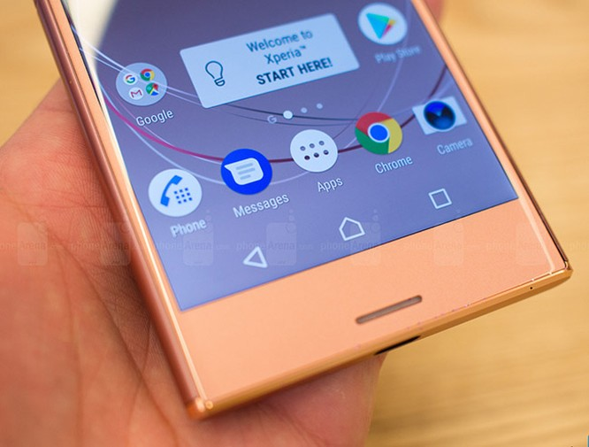 Chiêm ngưỡng Sony Xperia XZ Premium màu hồng vàng ảnh 2
