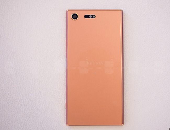 Chiêm ngưỡng Sony Xperia XZ Premium màu hồng vàng ảnh 4