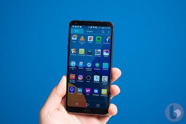 Hình ảnh đầu tiên LG G6 mini sắp ra mắt ảnh 1