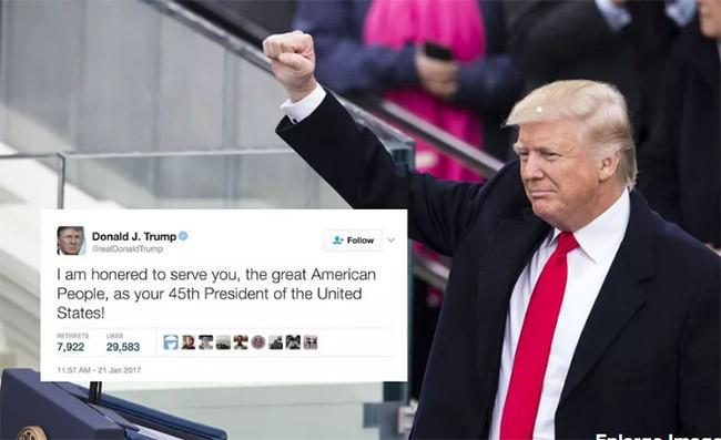 Tổng thống Trump xóa 11 tweet nào trong 100 ngày tại vị? ảnh 1