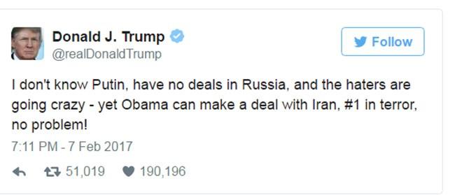 Tổng thống Trump xóa 11 tweet nào trong 100 ngày tại vị? ảnh 4