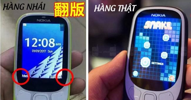 Nokia 3310 chưa lên kệ nhưng hàng nhái đã tràn lan ảnh 1