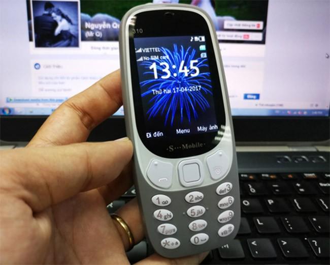 Nokia 3310 chưa lên kệ nhưng hàng nhái đã tràn lan ảnh 2