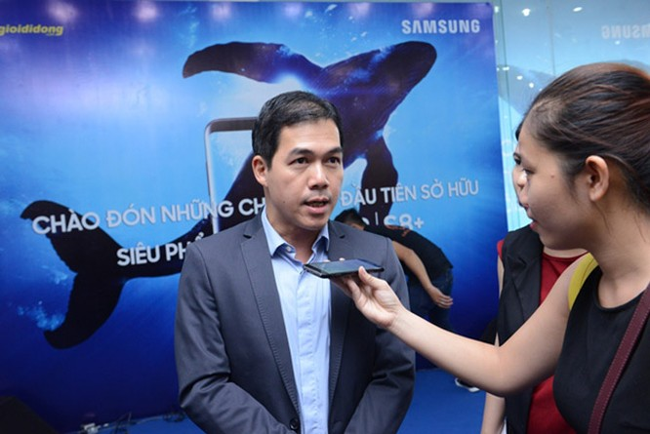 """Galaxy S8 Plus """"đắt sô"""" ngày đầu mở bán tại Việt Nam ảnh 1"""