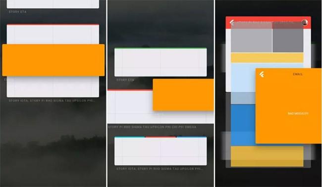 Rò rỉ giao diện hệ điều hành bí ẩn của Google ảnh 1