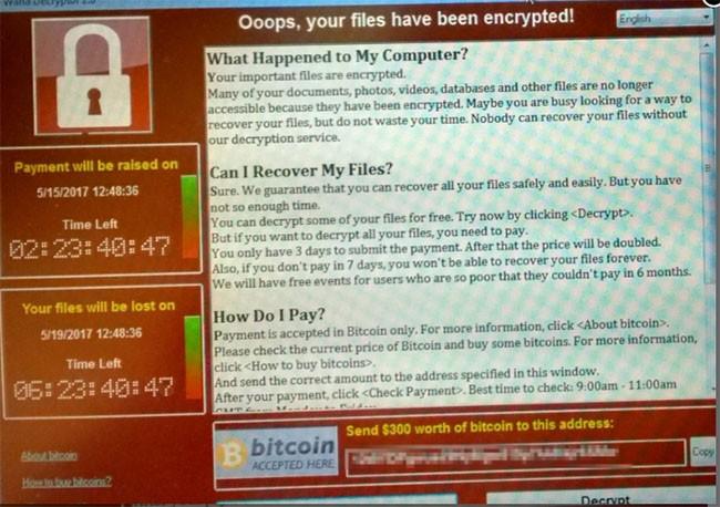 70.000 máy tính toàn cầu đang bị tấn công, trong đó có Việt Nam ảnh 1