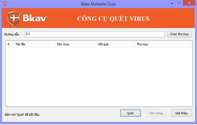 BKAV phát hành công cụ miễn phí kiểm tra mã độc WannaCry ảnh 1