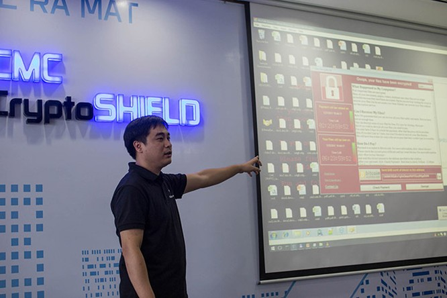 CMC ra mắt phần mềm chống mã độc tống tiền giống WannaCry ảnh 1
