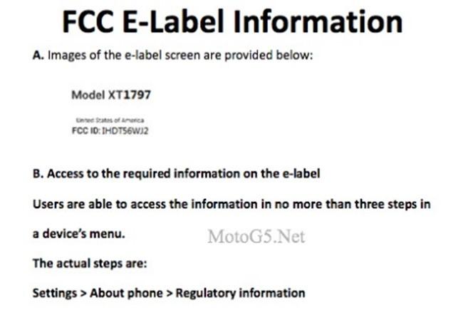 Sản phẩm bí ẩn của Motorola được FCC cấp chứng nhận ảnh 1