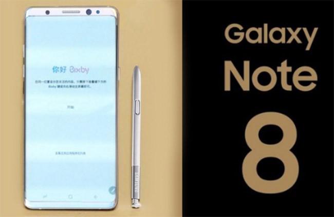 Cảm biến vân tay trong màn hình Note 8 gây mất cân bằng độ sáng ảnh 1