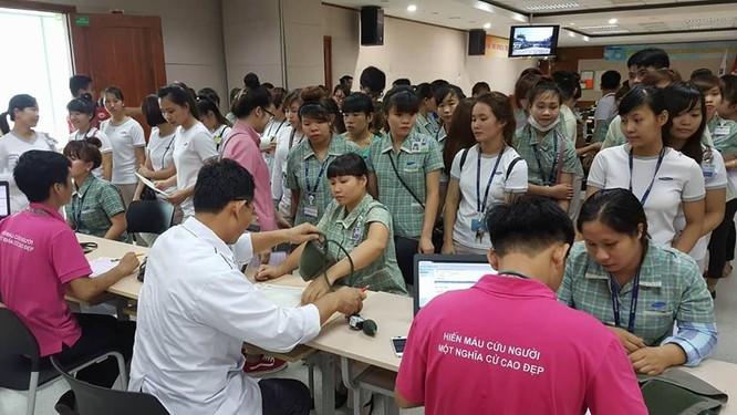 Samsung Việt Nam phát động chương trình hiến máu nhân đạo lần thứ 8 ảnh 3
