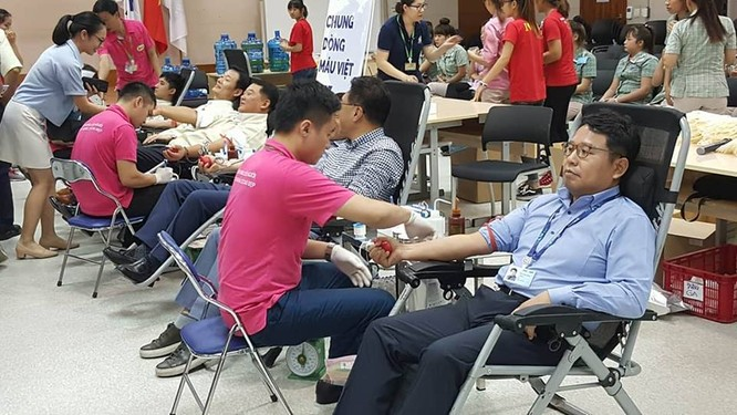 Samsung Việt Nam phát động chương trình hiến máu nhân đạo lần thứ 8 ảnh 4