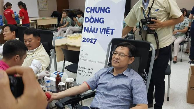Samsung Việt Nam phát động chương trình hiến máu nhân đạo lần thứ 8 ảnh 1