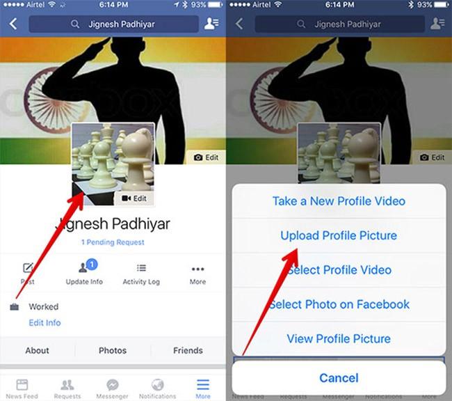 Facebook thử nghiệm tính năng chống đánh cắp ảnh profile ảnh 1